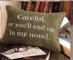 writers pillow