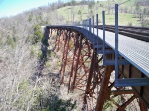 Bear Creek Trestle, built in 1934