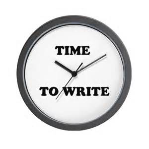 time to write_clock