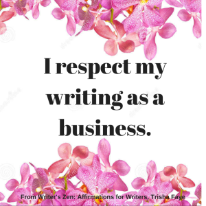 WZ_I respect my writing as a business.